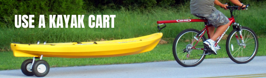 Use-a-kayak-cart
