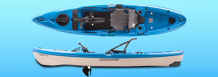 Propeller Based Pedal Kayak