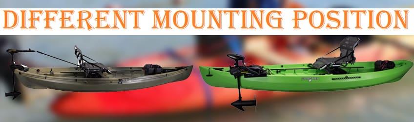 Trolling Motor Mount Position