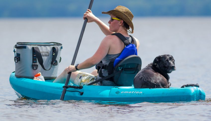 How to Carry a Cooler on a Kayak