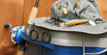 How to Put a Fish Hook on a Hat