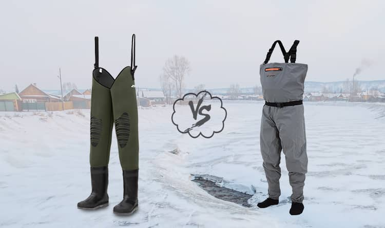 Hip Waders vs Chest Waders