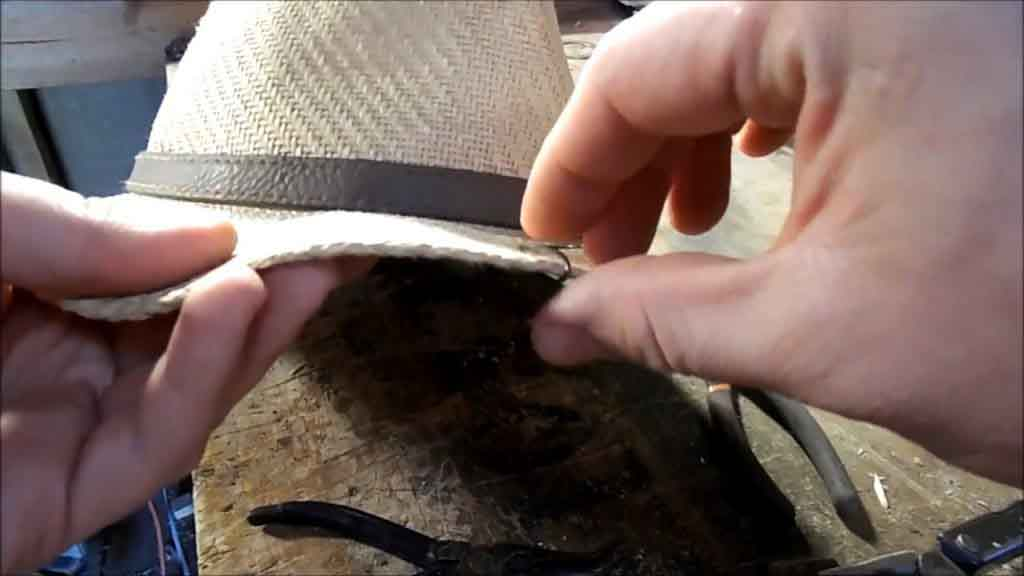 How to Put a Fish Hook on a Hat - How to Make Your Own Hat Clip at Home