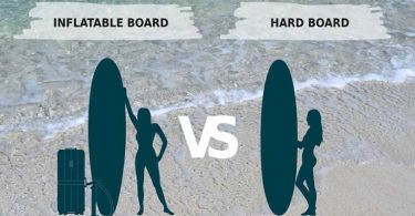inflatable vs hard paddle board