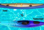 Tandem Kayak vs Canoe