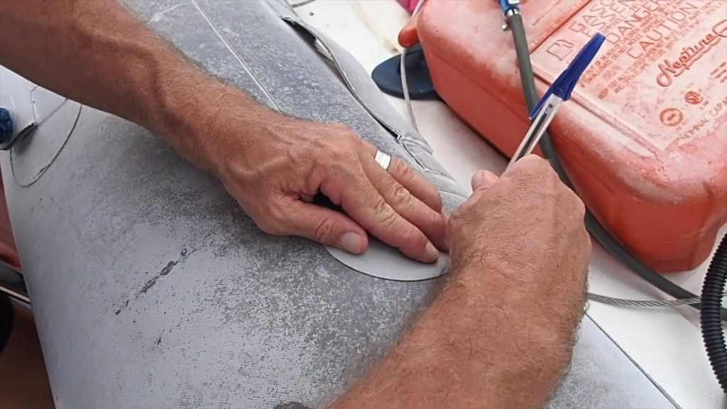 inflatable boat repair: Large Holes and Tears